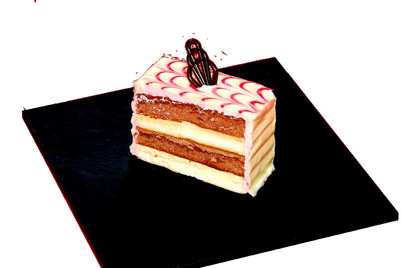 Tarta Blanco y Fresa